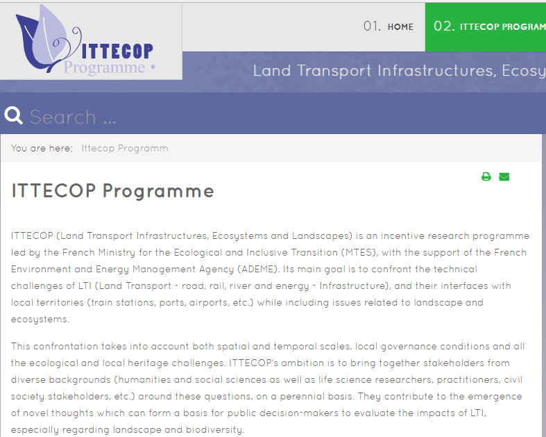National Research Programme ITTECOP
