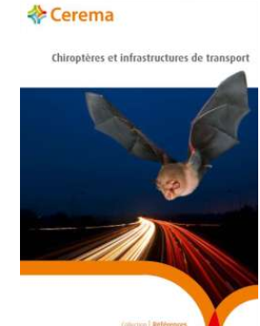 Chiroptères et infrastructures de transport. Cerema