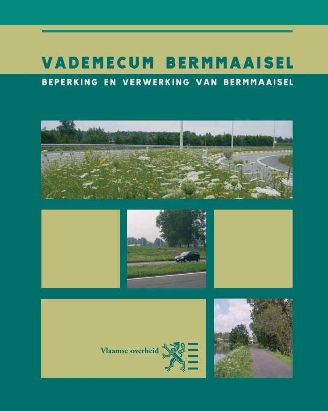 Vademecum bermmaaisel. Beperking en verwerking van bermmaisel. Flemish government