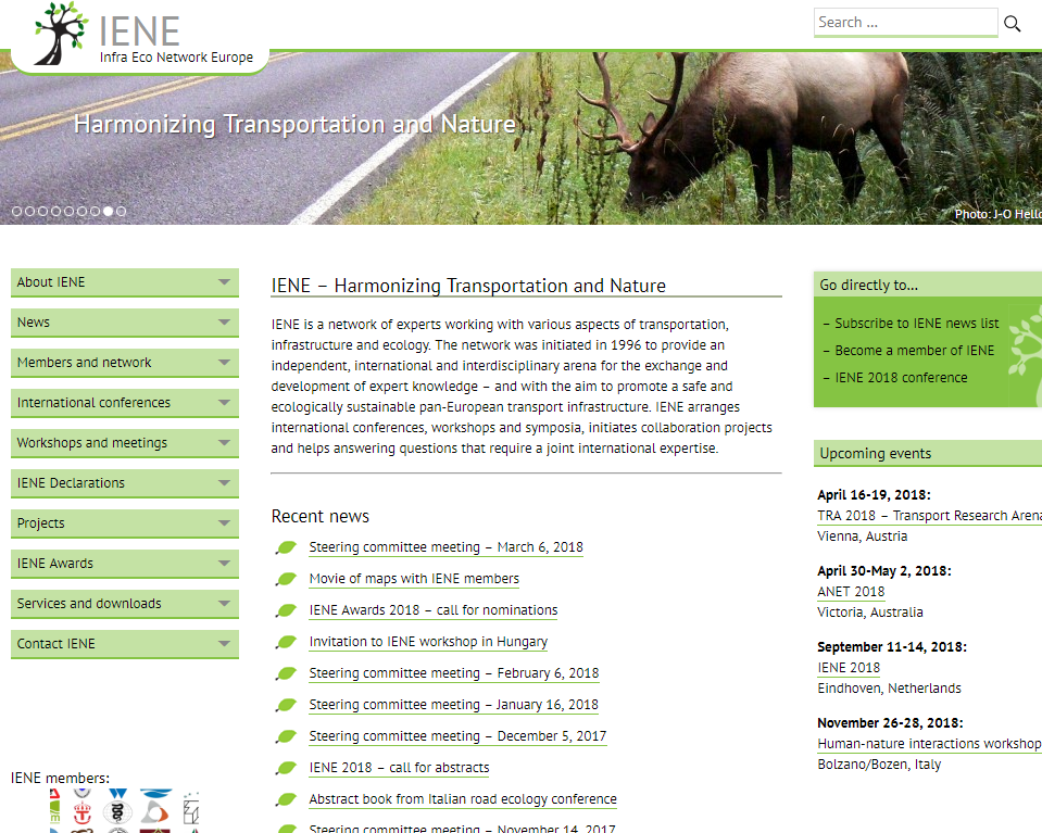 Infra Eco Network Europe (IENE)