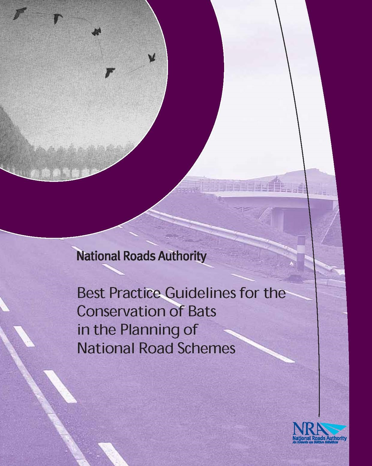 Best Practice Guidelines for the Conservation of Bats in the Planning of National Road Schemes. National Roads Authority (NRA)