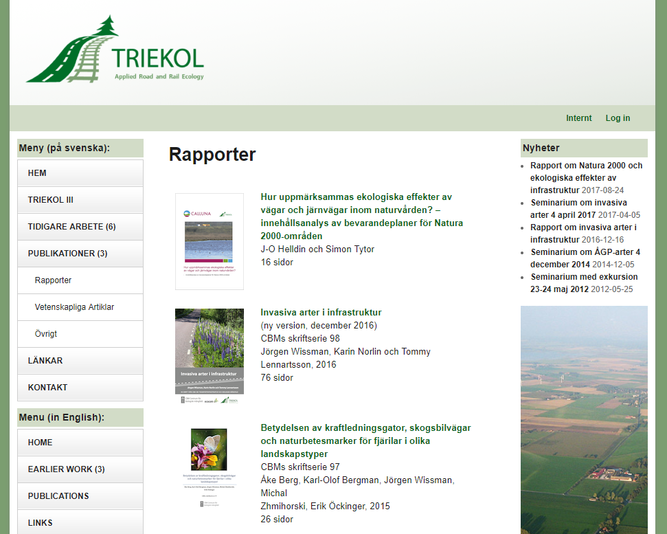 TRIEKOL – Applied Road and Rail Ecology