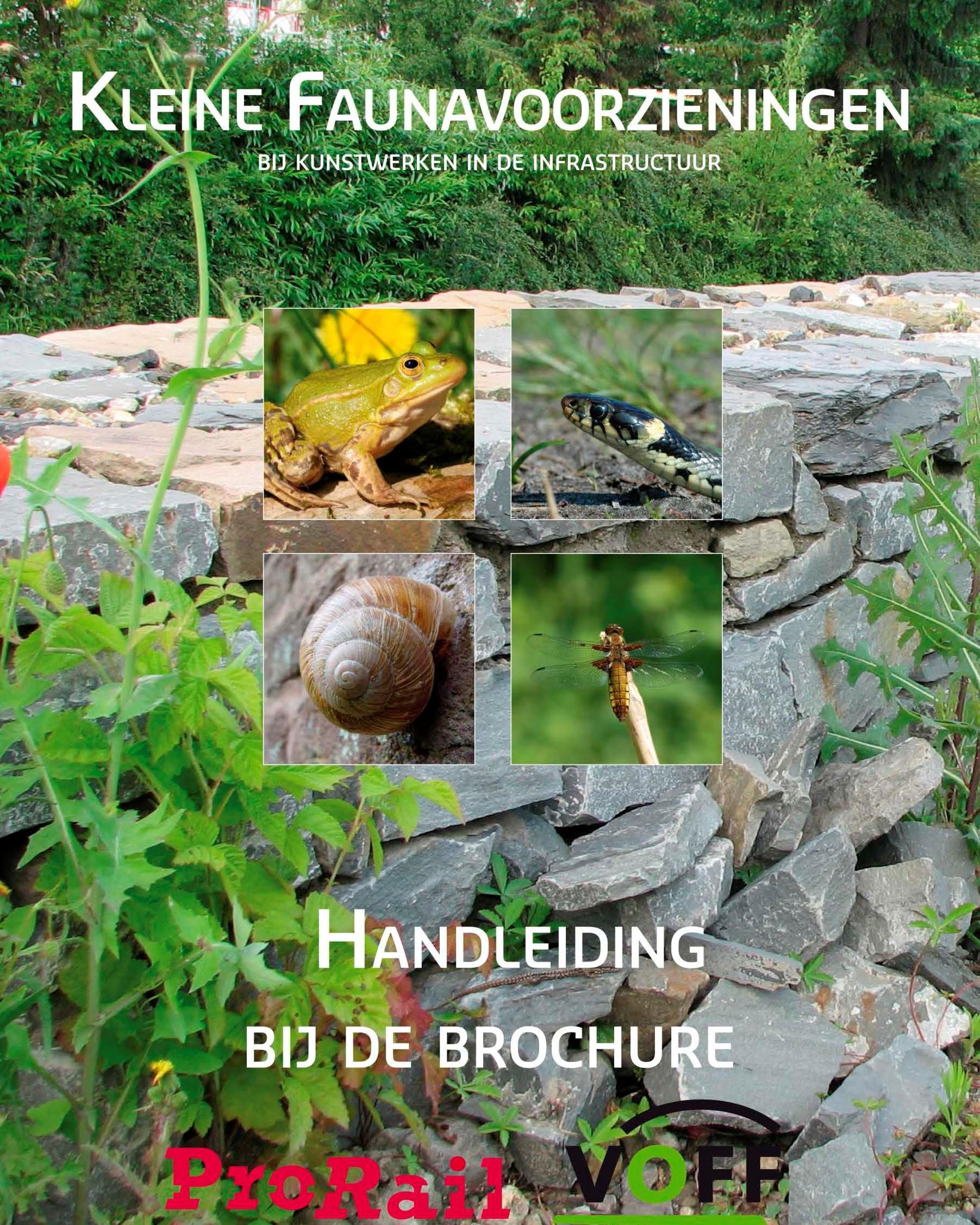 Kleine Faunavoorzieningen bij kunstwerken in de infrastructuur. Stichting VeldOnderzoek Flora en Fauna (VOFF)