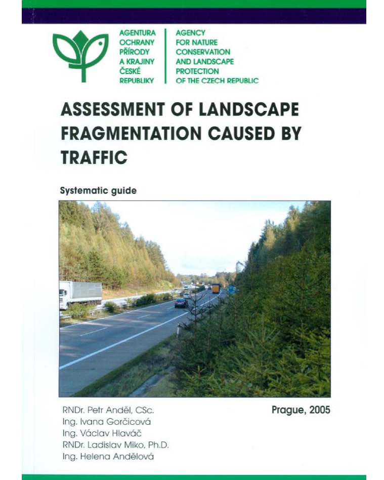 Assesment of landscape fragmentation caused by traffic. Systematic guide
