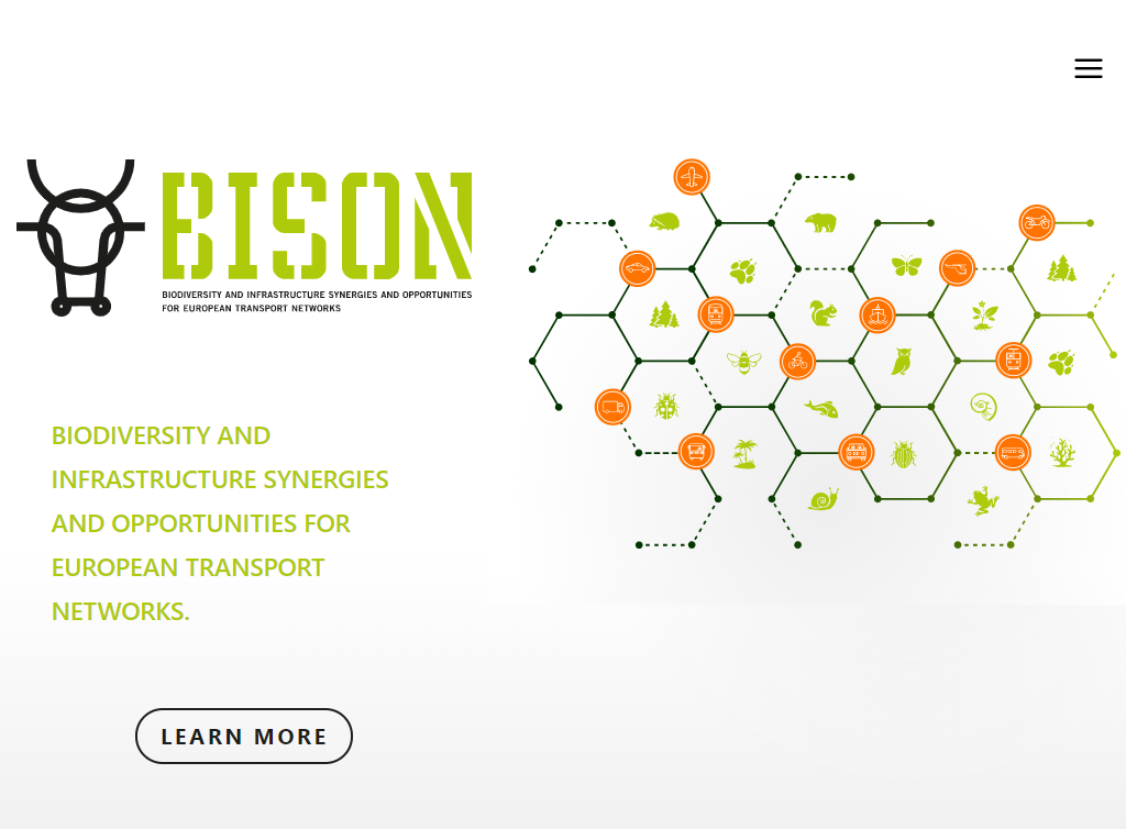 Biodiversity and infrastructure synergies and opportunities for European transport networks (BISON)