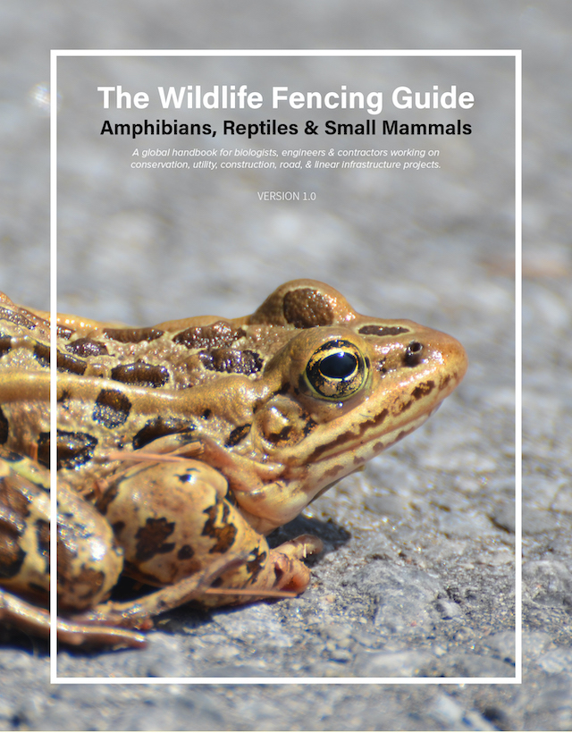 The Wildlife Fencing Guide : Reptiles, Amphibians & Small Mammals